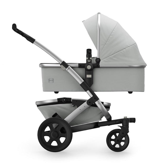 Joolz Geo 2 Tailor Mono Stroller in Silver with Silver Chassis & Black Wheels - Urban Stroller