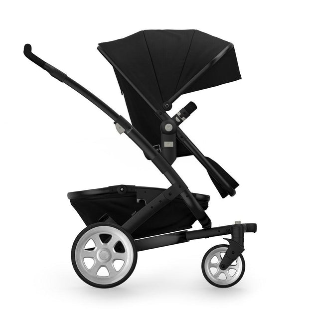 Joolz Geo 2 Tailor Mono Stroller in Black with Black Chassis & Silver Wheels - Urban Stroller