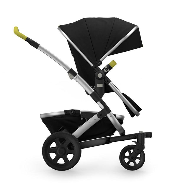 Joolz Geo 2 Tailor Mono Stroller in Black with Silver Chassis & Black Wheels - Urban Stroller