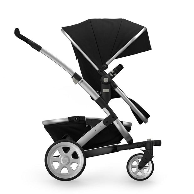 Joolz Geo 2 Tailor Mono Stroller in Black with Silver Chassis & Silver Wheels - Urban Stroller