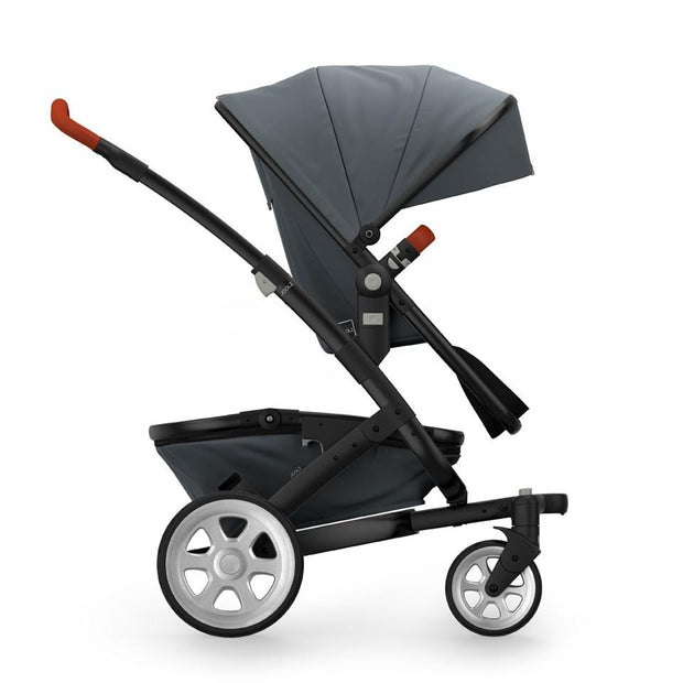 Joolz Geo 2 Tailor Mono Stroller in Grey with Black Chassis & Silver Wheels - Urban Stroller