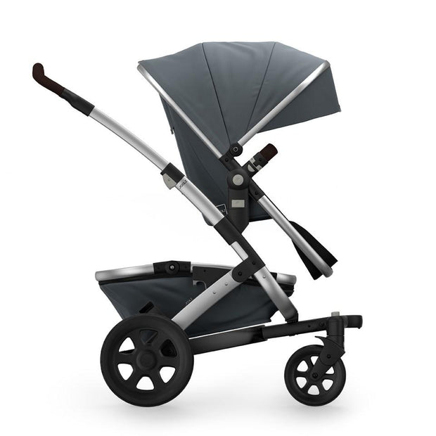 Joolz Geo 2 Tailor Mono Stroller in Grey with Silver Chassis & Black Wheels - Urban Stroller
