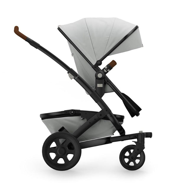 Joolz Geo 2 Tailor Mono Stroller in Silver with Black Chassis & Black Wheels - Urban Stroller