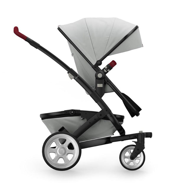 Joolz Geo 2 Tailor Mono Stroller in Silver with Black Chassis & Silver Wheels - Urban Stroller