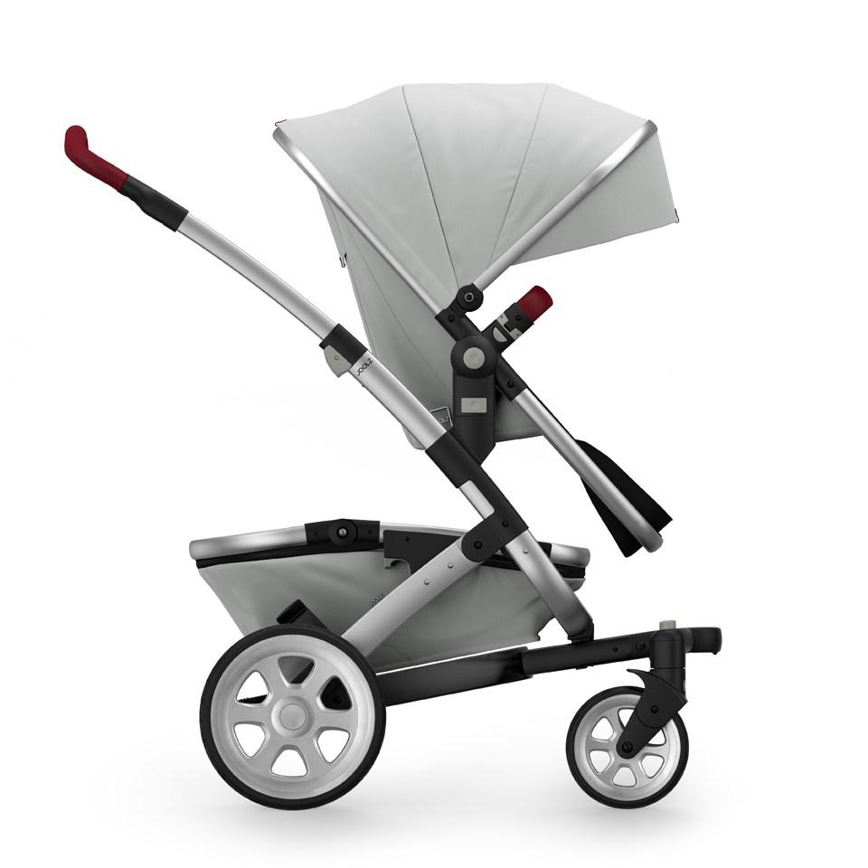 Joolz Geo 2 Tailor Mono Stroller in Silver with Silver Chassis & Silver Wheels - Urban Stroller