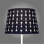 The Peanutshell ‎Navy Arrows Cut Out Lamp Shade - Urban Stroller