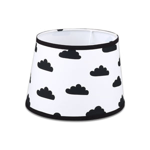 The Peanutshell Black Clouds Lamp Shade - Urban Stroller