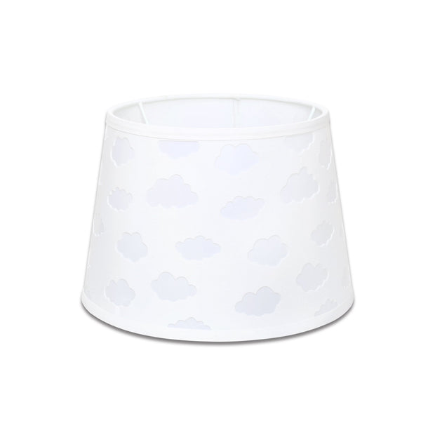 The Peanutshell White Cloud Cut Out Lamp Shade - Urban Stroller