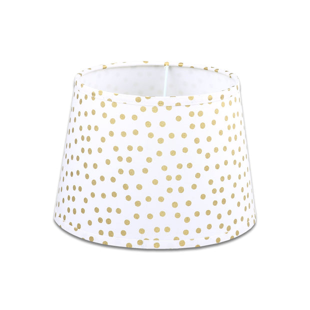 The Peanutshell Gold Dot Lamp Shade - Urban Stroller