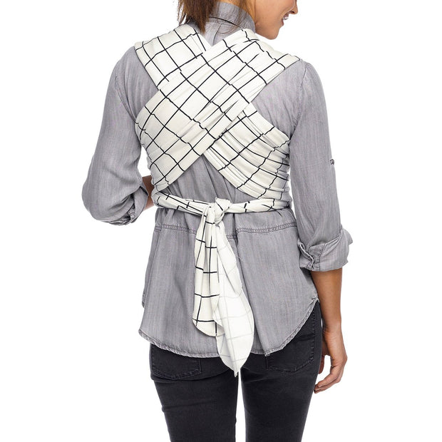 Moby Evolution Wrap Baby Carrier in Lattice - Urban Stroller