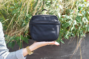 Storksak Hero Luxe Black Diaper Bag