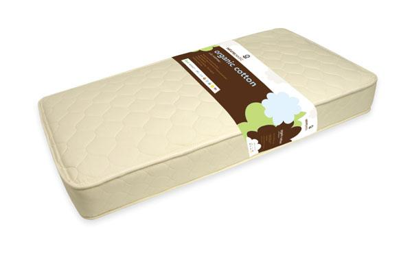 Naturepedic Quilted Organic Cotton Deluxe 252 Crib Mattress - Urban Stroller