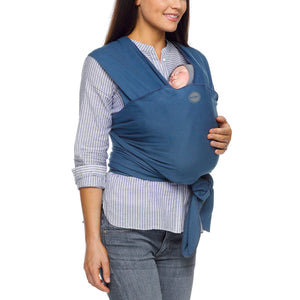 Moby Classic Wrap Baby Carrier in Marina - Urban Stroller