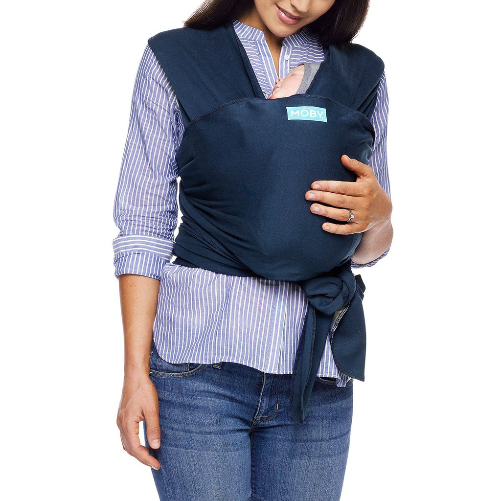 Moby Classic Wrap Baby Carrier in Midnight - Urban Stroller