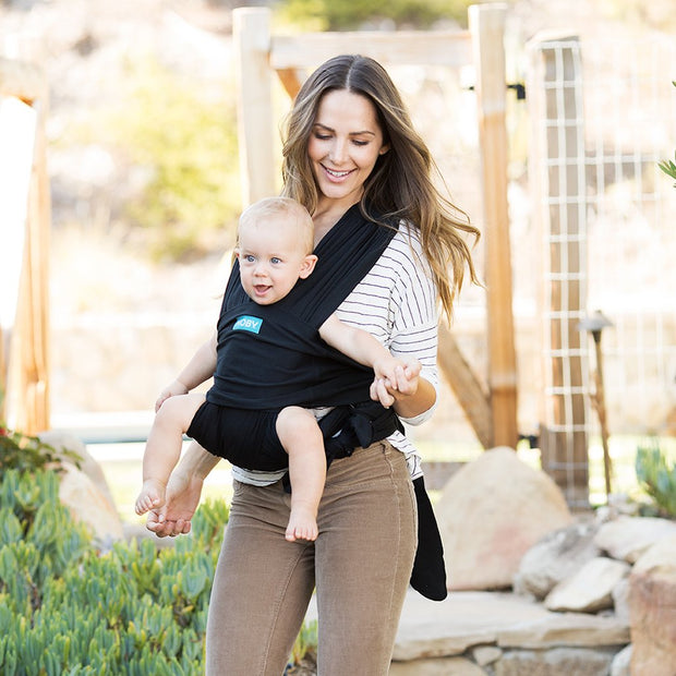 Moby Fit Baby Carrier in Black - Urban Stroller
