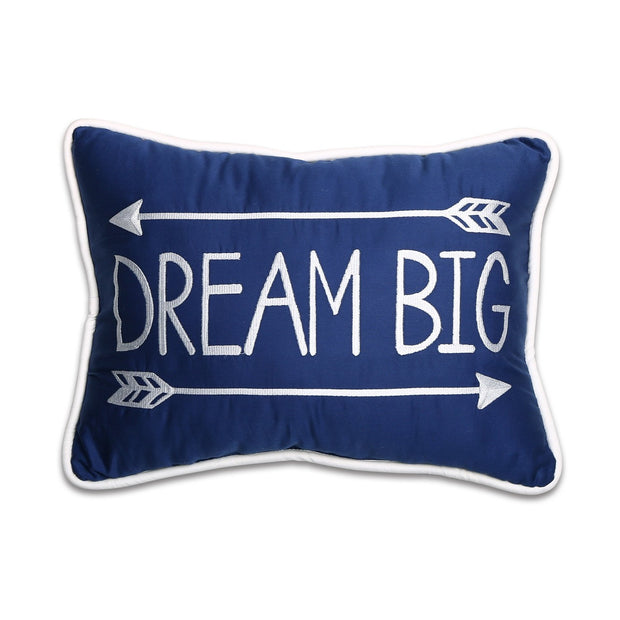 The Peanutshell Dream Big Decorative Pillow - Urban Stroller