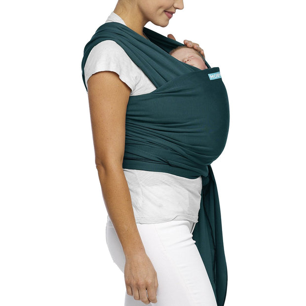 Moby Classic Wrap Baby Carrier in Pacific - Urban Stroller