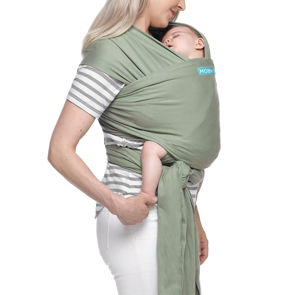 Moby Classic Wrap Baby Carrier in Pear - Urban Stroller