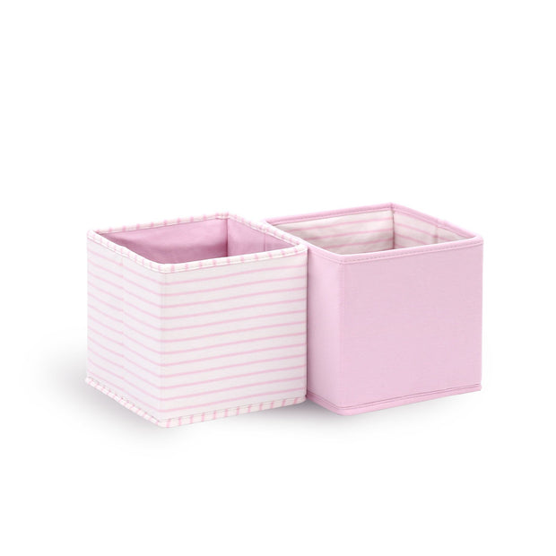 The Peanutshell Set Of 2 Storage Totes - Pink - Urban Stroller