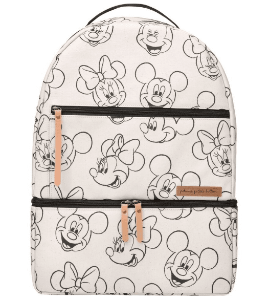 Petunia Pickle Bottom Axis Backpack in Sketchbook Mickey & Minnie - Urban Stroller
