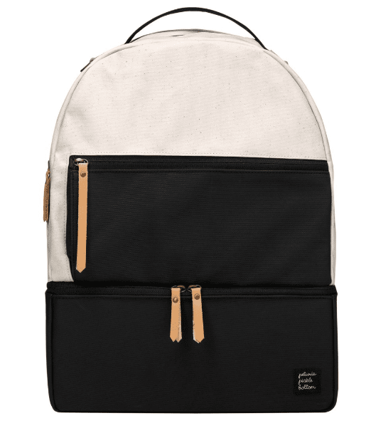 Petunia Pickle Bottom Axis Backpack in Birch & Black - Urban Stroller
