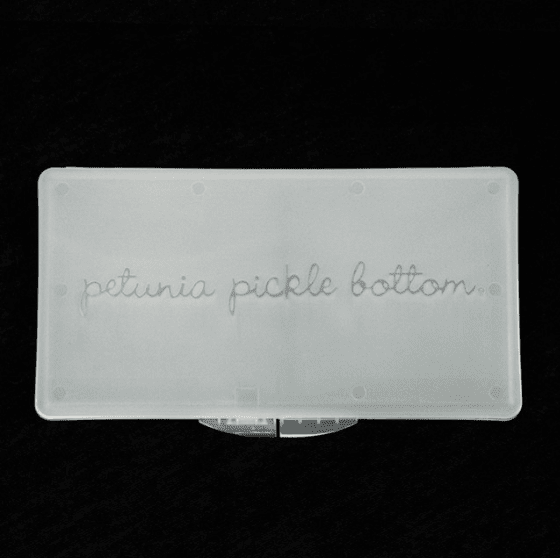 Petunia Pickle Bottom Wipes Case - Urban Stroller