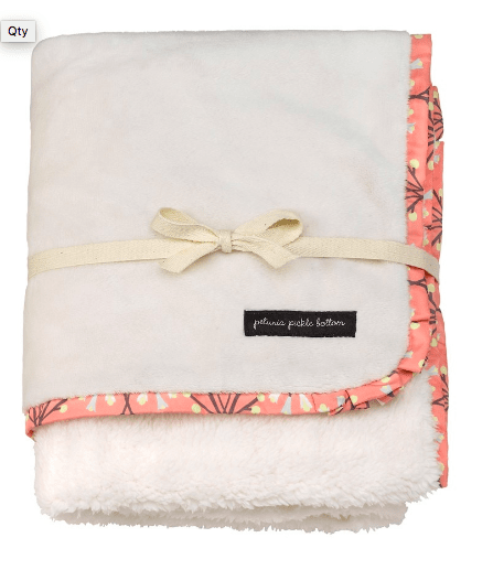 Petunia Pickle Bottom Receiving Blanket - Urban Stroller