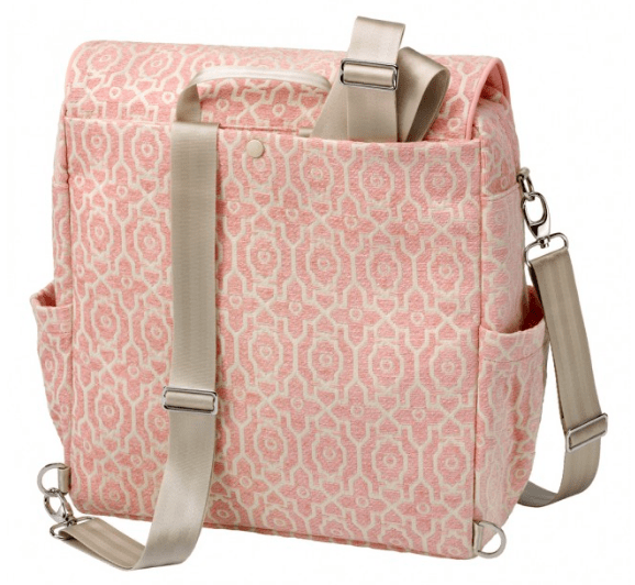 Petunia Pickle Bottom Boxy Backpack in Sweet Rose - Urban Stroller