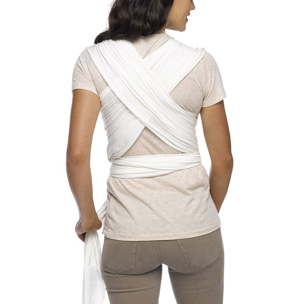Moby Evolution Wrap Baby Carrier in Vanilla - Urban Stroller