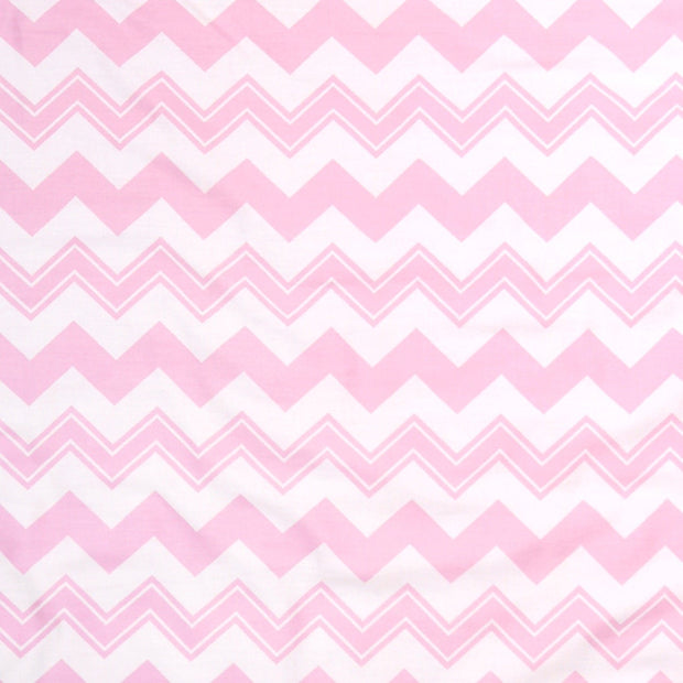 The Peanutshell Pink Chevron Blackout Panel Pair - Urban Stroller