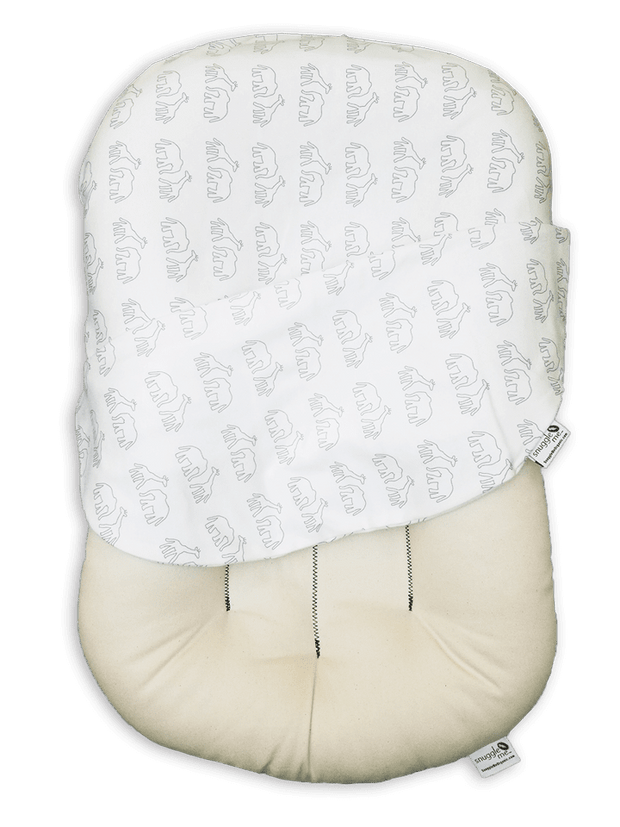 Snuggle Me Organic Lounger with Dreams on Parade Cover - Urban Stroller