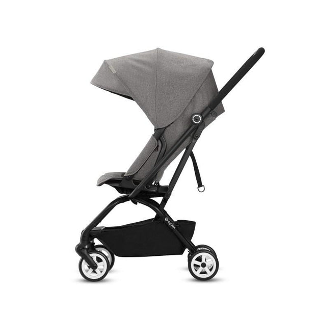 Cybex Eezy S Twist Stroller in Manhattan Grey - Urban Stroller