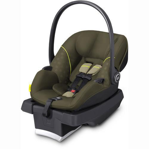 GB Asana Infant Car Seat in Lizard Khaki with Load Leg Base - Urban Stroller