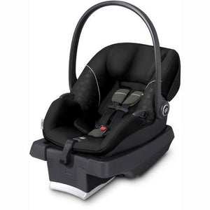 GB Asana Infant Car Seat in Monument Black with Load Leg Base - Urban Stroller