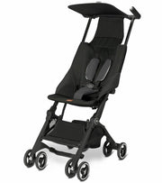 GB Pockit Stroller in Monument Black - Urban Stroller