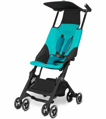 GB Pockit Stroller in Capri Blue - Urban Stroller