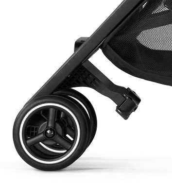 GB Pockit+ Plus Stroller in Satin Black - Urban Stroller