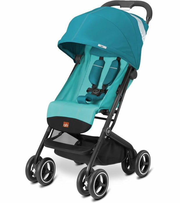 GB Qbit Plus Stroller in Capri Blue - Urban Stroller