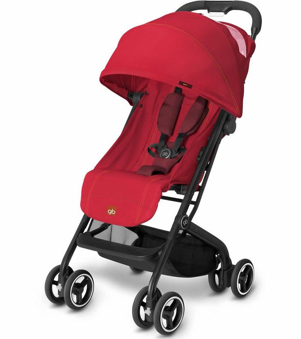 GB Qbit Stroller in Dragonfire Red - Urban Stroller