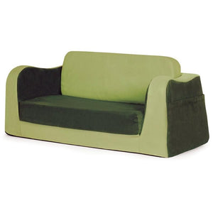P'kolino Little Reader Toddler Sofa Lounge in Green - Urban Stroller
