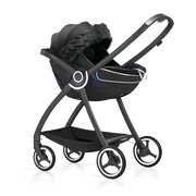 GB Idan Plus Infant Car Seat in Lux Black - Urban Stroller