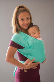 Hope Carried Baby Wrap in Turquoise - Urban Stroller
