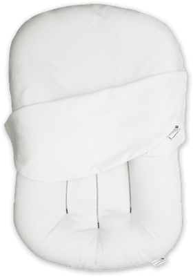 Snuggle Me Original Lounger with Optic White Cover - Urban Stroller