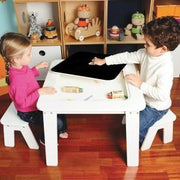 P'kolino Chalk Table in White - Urban Stroller