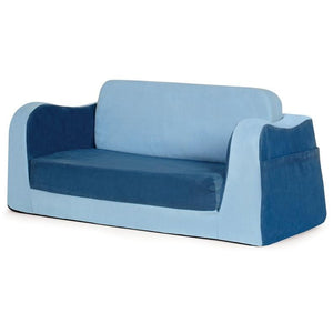 P'kolino Little Reader Toddler Sofa Lounge in Blue - Urban Stroller