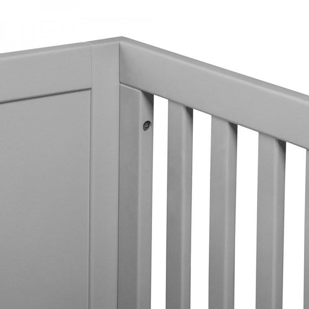 P'kolino Nesto Convertible Crib in Grey - Urban Stroller