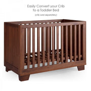 P'kolino Nesto Crib Conversion Kit in Mahogany