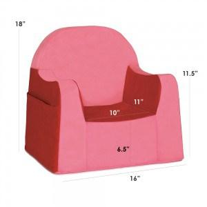P'kolino Little Reader Toddler Chair in Red - Urban Stroller