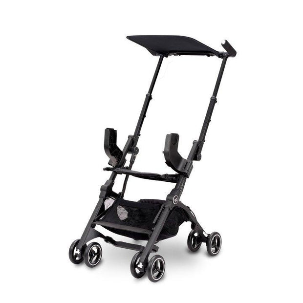 GB Pockit GO Stroller in Satin Black - Urban Stroller