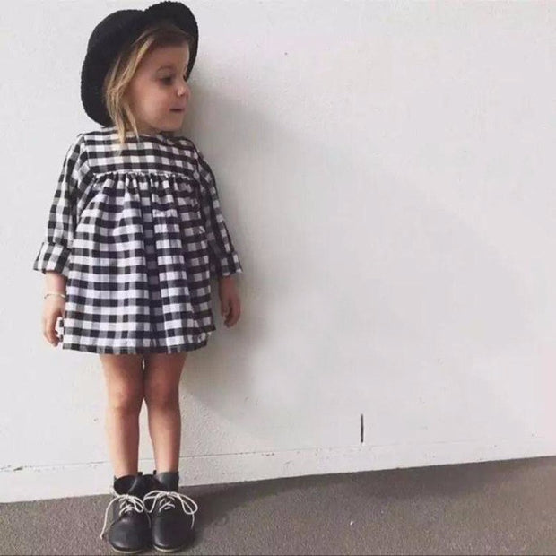 Casual Plaid Dress